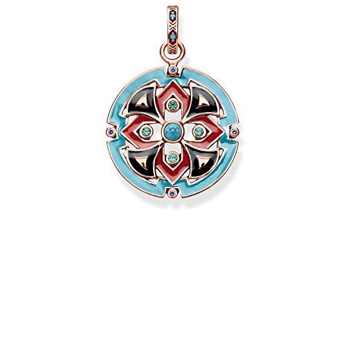 Thomas Sabo Damen-Anhänger asiatische Ornamente Glam & Soul 925 Sterling Silber PE787-388-7