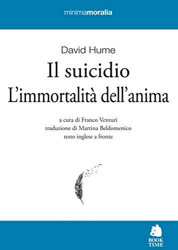 Il suicidio-L'immortalità dell'anima. Testo inglese a fronte. Ediz. bilingue