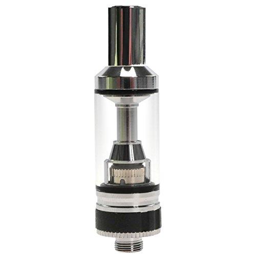 Eleaf GSTurbo Clearomizer, Tankvolumen 1.8 ml, Durchmesser 15 mm, Riccardo Verdampfer für e-Zigarette, silber