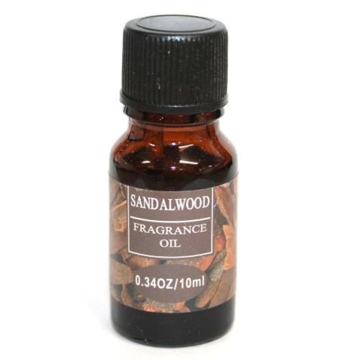 お風呂を持っている鰐クリエイティブRELAXING アロマオイル フレグランスオイル サンダルウッドの香り ビャクダン (白檀) RQ-03