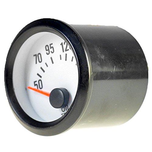Mintice 2' 52mm Universal medidor Indicador Puntero de Coche luz LED medidor de Temperatura del Aceite Calibre Motor