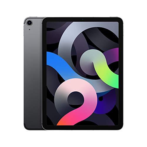 2020 Apple iPadAir (10.9-inch, Wi-Fi + Cellular, 64GB) - Space Gray (4th Generation)