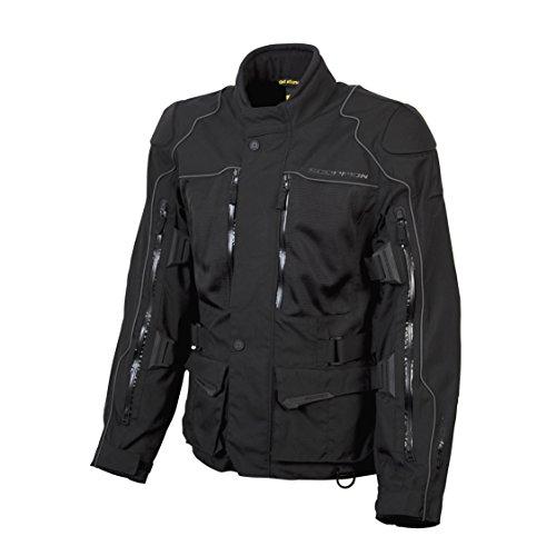 ScorpionExo XDR Yosemite Men's Textile Adventure Touring Motorcycle Jacket (Black)