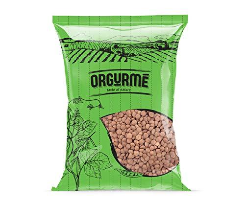 Orgurmé - Lentejas rojas enteras, 400 g (pack de 6)