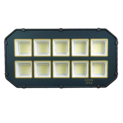 L.TSA FloodLight Bright LED 6500K Projecteur extérieur pour Tunnel Courtyard Playground Greenery Engineering IP66 étanche