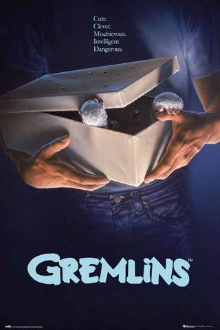 Gremlins - Original - Horror Film Poster Plakat Druck - Grösse 61x91,5 cm