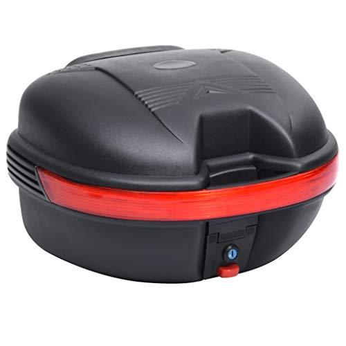 SHUJUNKAIN Maleta para Motos con Capacidad para un Casco 26 L Vehículos y recambios Piezas y Accesorios para vehículos Almacenamiento y Carga de vehículos Bolsas y Maletas para Motocicletas Negro