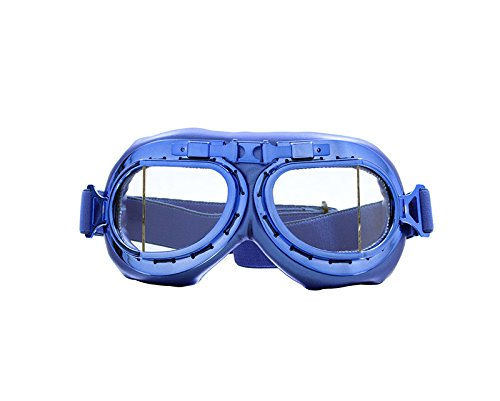 CRG Sports Vintage Aviator Pilot Style Motorcycle Cruiser Scooter Goggle T08 - Parent