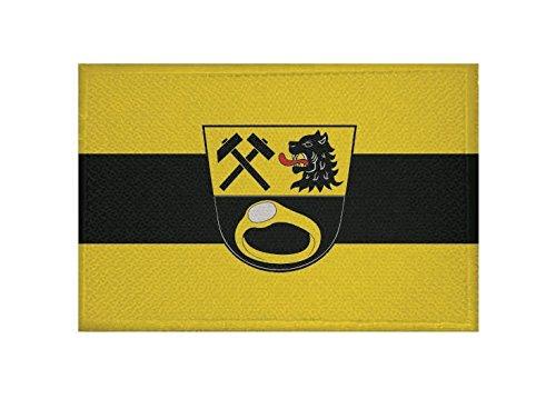 U24 Aufnäher Ainring Fahne Flagge Aufbügler Patch 9 x 6 cm