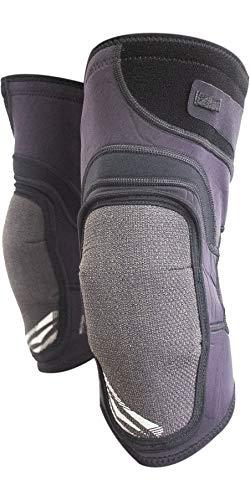 GUL Code Zero PRO D30 Ginocchiere Nere - Cinghie Elasticizzate Regolabili - Comode e Flessibili - Leggere - Unisex
