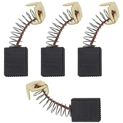 2 Paar Kohlebürsten 16,5 x 13,5 x 6,5 mm Kompatibel mit Evolution RAGE 2 355 mm Abgeschnittene Kappsägen Ersatzteile