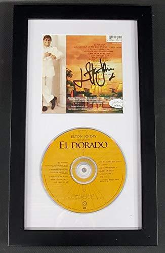 Elton John Signed Autographed CD Insert Framed w/CD El Dorado JSA KK78439