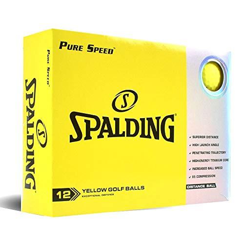 Spalding Pure Speed 12 Bälle – Gelb