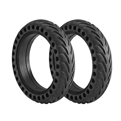 Moontie Neumático para scooter eléctrico, 2 unidades antipinchazos, ruedas de patín eléctrico...