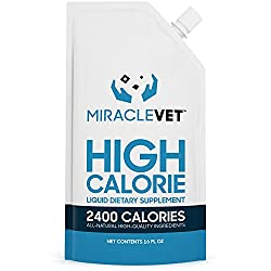 Miracle Vet dog food supplement for weight gain