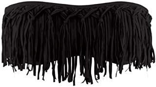LSpace Women's Knotted Fringe Bandeau Bikini Top