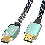 【昇級版】 HDMI ケーブル Toptrend 27Gbps 銀メッキ 4K HDMI2.0ケーブル 1.83m 3重シールドノイズ対策 28AWG銅導体 CL3防火レベル 4K/60Hz 3D UHD HDR ARC イーサネット対応