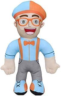 Blippi pluche pop zachte knuffel voor baby gift cosplay prop cartoon gevulde speelgoed pop educatieve kinderen kinderen Ke...