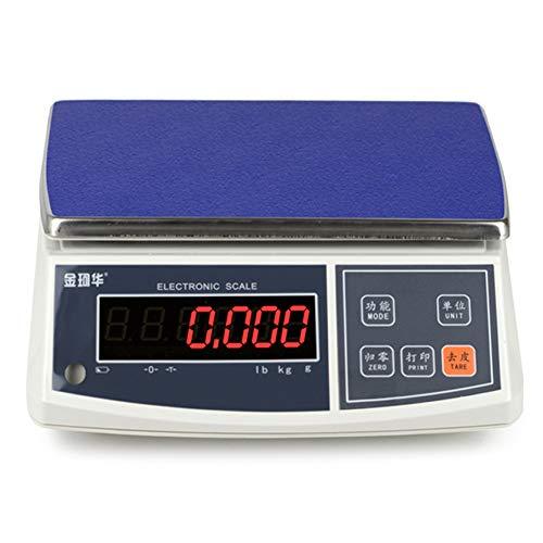 ZCY 0,1G Digitale keukenweegschaal, nauwkeurige elektronische weegschaal, balans, eten, bakken platformweegschaal, commercieel weegschaal, voor hardware, ingrediënten, markt ES1008