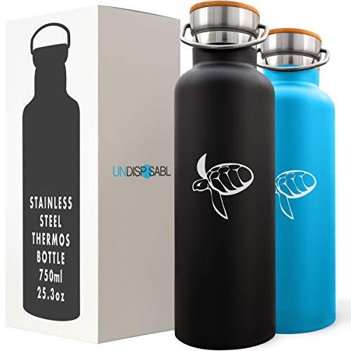 CARETTA - Stainless Steel Water Bottle, finances OCEAN...