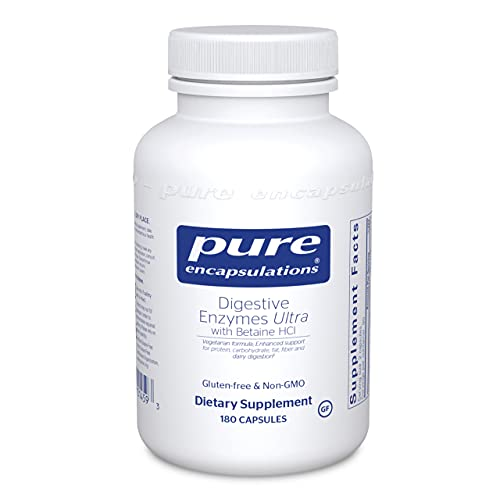 Pure Encapsulations Digestive Enzymes Ultra with...
