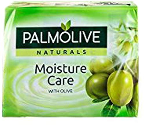 PALMOLIVE - Pain de Savon - Naturals Delicate Care Lait d'amande - 4x90g
