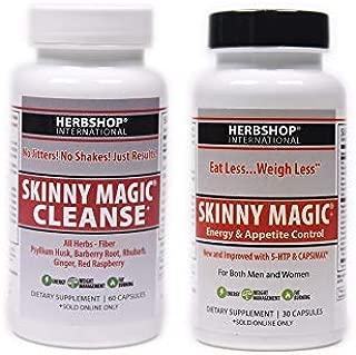 Skinny Magic® Appetite Control - 30 Capsules & Skinny Magic® Cleanse - 60 Capsules (Variety Combo)