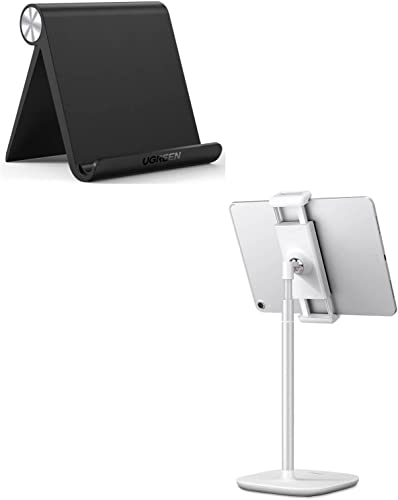 popular UGREEN Tablet Stand Holder Bundle Adjustable Compatible wholesale for iPad 10.2 2019, iPad Pro 11 Inch outlet online sale 2020, iPad 9.7 2018, iPad Mini 5 4 3 2, iPad Air, Nintendo Switch, iPhone 11 Pro Max XS XR X 8 Plus 7 6 online sale
