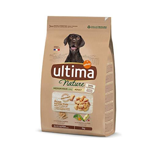 Ultima Nature Cibo per Cani Medium-Maxi con Pollo, 3kg