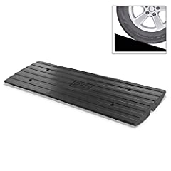 MULTIPURPOSE USAGE: The Pyle Vehicle Curb Ramp can be used for a variety of purposes. Gives access to a lowered car auto vehicle, SUV, van, mobile wheelchair, motorcycle, bike, scooter & hand truck over curbs or elevated sidewalk STURDY HARDWARE: Thi...