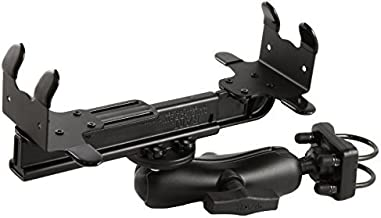 RAM MOUNTS (RAM-VPR-102-1 Printer Cradle, Double Socket Arm and Double U-Bolt Base for The Canon Bjc-85 and I80