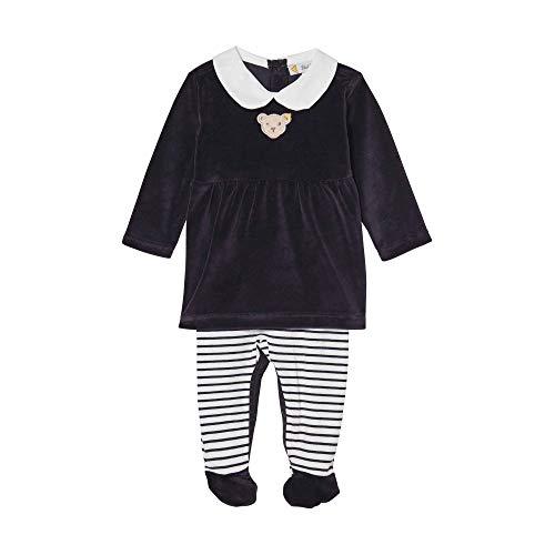 Steiff Baby - Mädchen Spieler , Blau (BLACK IRIS 3032) , 56 (Herstellergröße:56)