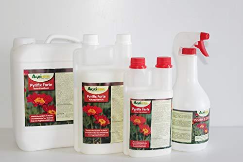 Agrinova Pyrifix Forte - Naturpyrethrum-Konzentrat gegen Schadinsekten & Lästlinge in der Haus-und Nutztierhaltung, gegen Stallfliegen, Mücken usw.