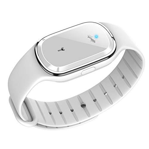 CHICIRIS Sport Bracelet, Heart Rate Monitor Smart Bracelet, Fitness Tracker Blood Pressure Monitoring Smart Waterproof Sports for Women and Men(M1-white countless display)