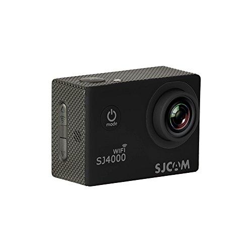 """SJCam SJ4000 WiFi - Videocámara deportiva (LCD 2"""", 1080p, 30 fps, sumergible hasta 30 m) color negro, - [Versión español]"""