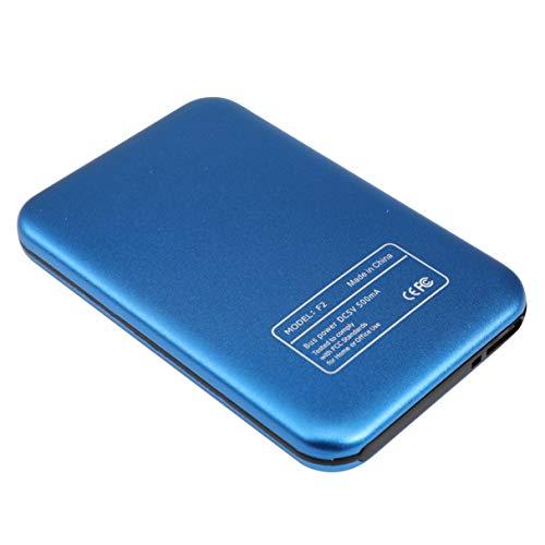 Morninganswer Caja SSD USB3.0 SSD Caja de Disco Duro Externo Soporte SSD de Alta Velocidad Unidad móvil UASP 500GB 1TB 2TB