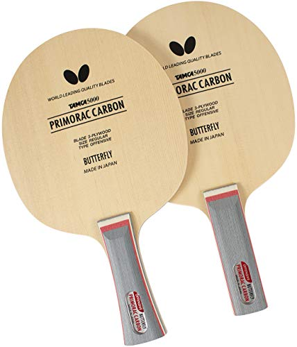 Butterfly Primorac Carbon Blade Table Tennis Blade - TAMCA 5000...