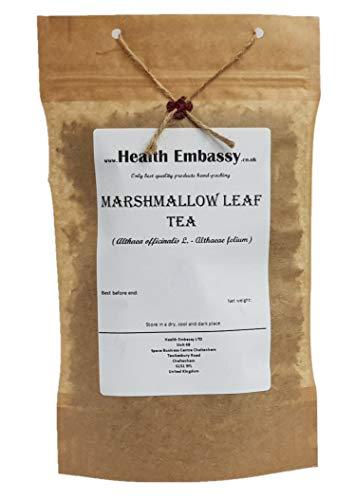 Health Embassy Echter Eibisch Blätter Tee (Althaea officinalis L.) / Marshmallow Leaf Tea, 100g