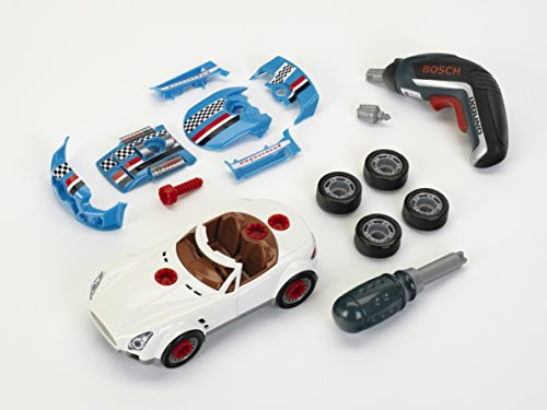 Theo Klein - Bosch Car Tuning Set Premium Toys For Kids Ages 3 Years & Up