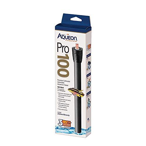 Aqueon Adjustable PRO Aquarium Heater 100 Watts