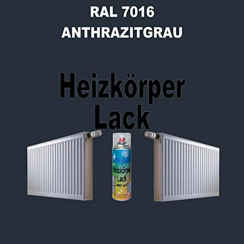 Heizkörperlack Spray 400 ml - RAL 7016 Anthrazitgrau