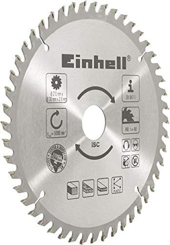 Einhell HM-Sägeblatt Stat. Sägen-Zubehör (Ø 210 x Ø 30 mm, 48 Zähne)