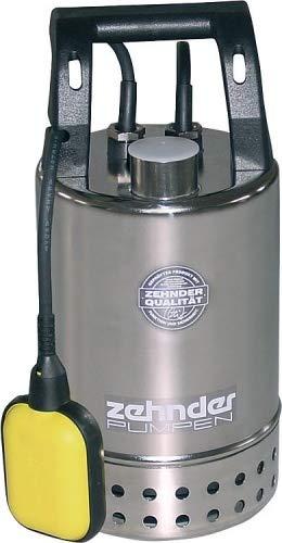 Schmutzwasserpumpe Tauchpumpe Zehnder E-ZW 50-A2 Edelstahl Pumpe Schmutzwasser 7.500 l/h