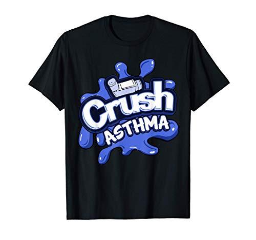 Asthma Awareness Respiratory Inhaler Disease Rhinitis Gift T-Shirt