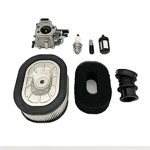 HCO-YU Carburador de combustible de aire de combustible de combustible de bujías de enchufe de la perspicacia de la perspicacia de gasa de gasa de gas adaptada para Stihl MS660 066 064 TILLOTSON HS-32