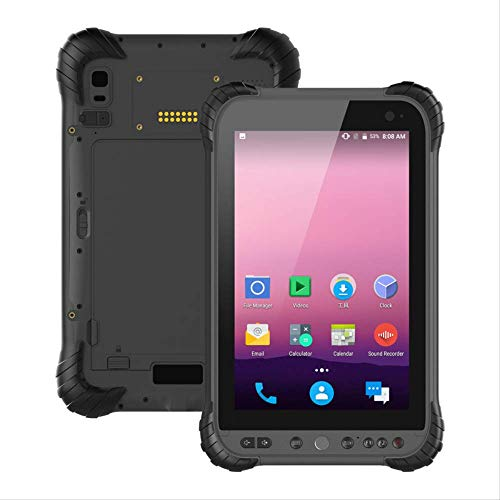 P300 Pro Rugged Android 9.0 Industrial Tablet Touch Screen 8.0'| Sdm632 Octa-core1.8ghz| 8000mah Battery| 4gb Ram +64gb ROM Support WiFi NFC 4g GPS Ip67 Water Resistant, Dustproof and Shockproof