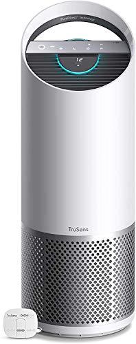 Leitz TruSens Purificatore d'Aria Z-3000, Lampada UV-C per Ridurre Virus e Batteri Presenti nell'Aria, Allergeni, Polvere e Cattivi Odori, per Ambienti di Grandi Dimensioni, fino a 70m², Bianco