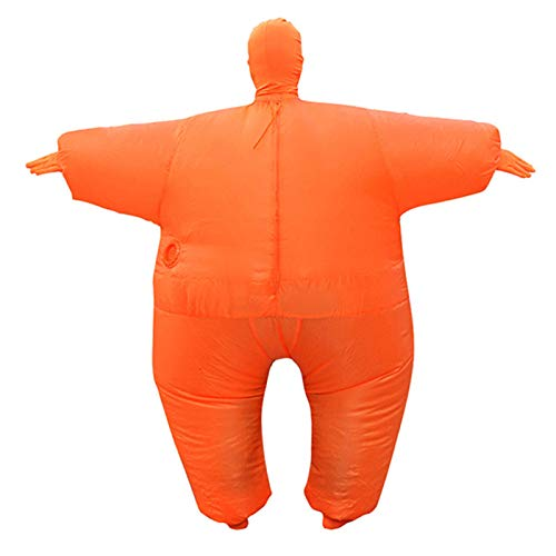 SUREH Aufblasbares Sumo-Ringer-Sumo-Kostüm, für Erwachsene, Wrestling-Kostüm, für Halloween, Party, aufblasbares Kostüm, Einheitsgröße