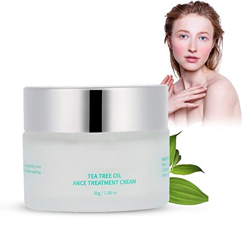 Crema Tratamiento del Acné Anti espinilla Crema para el retiro de cicatrices que blanquea el cuidado facial de la piel de la belleza, 30 g/botella