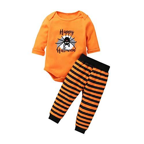Fossen Kids Disfraz Halloween Bebe Disfraces - Traje Halloween Bebe - Ropa Bebe Niña Otoño Invierno Fossen Recién Nacido Niña Peleles Monos de Manga Larga